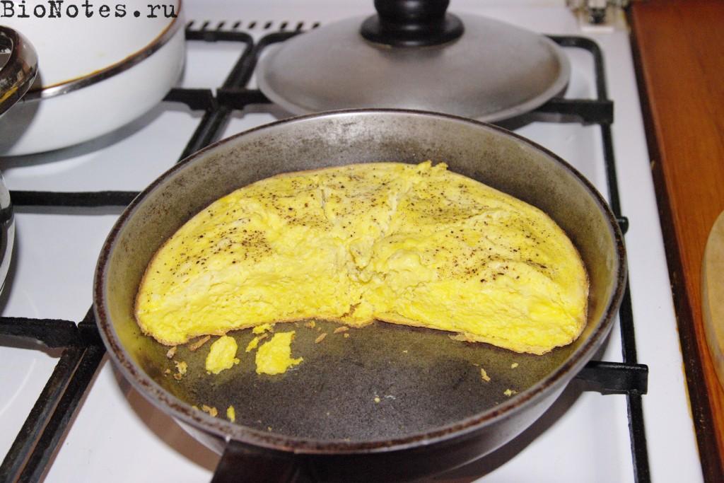 как готовить страусиное яйцо