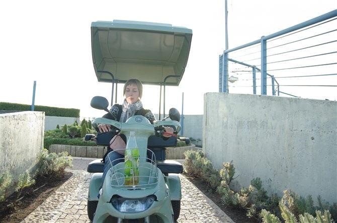 Электромобиль в парке Мини Израиль