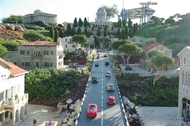 Миниатюра города Хайфа
